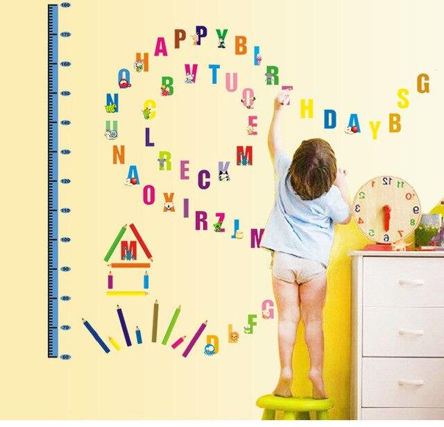 Cartoon English alphabet kids room nursery factory wholesale ...