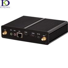 Fanless Mini PC Intel Celeron N2830/J1900 Small Desktop PC Dual HDMI USB 3.0 Dual Core BayTrail HD Graphic palm sized Wifi Win 7