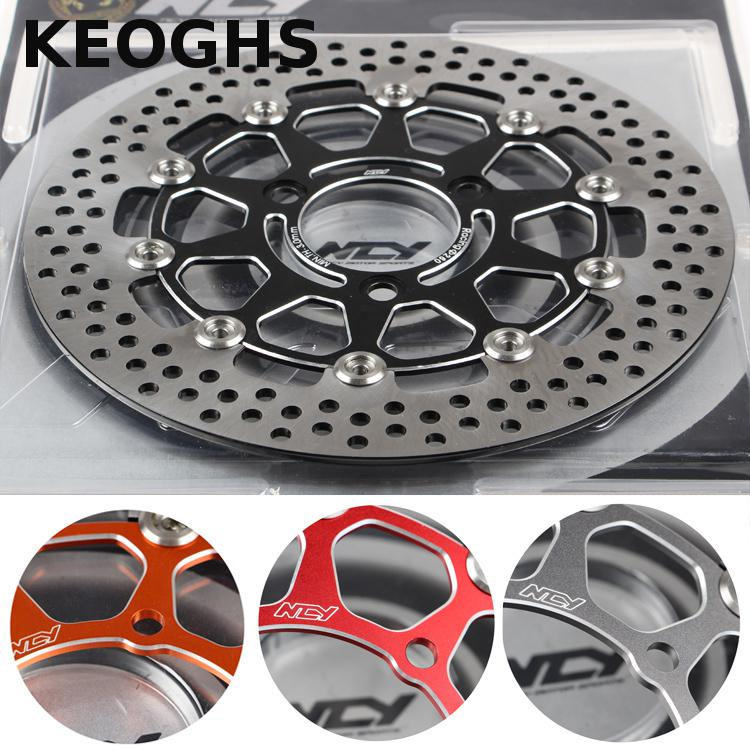 Keoghs Ncy Motorcycle Brake Disk/disc Floating 260mm/70mm/3 Holes For Yamaha Bws Smax Scooter Modify keoghs motorbike rear brake caliper bracket adapter for 220 260mm brake disc for yamaha scooter dirt bike modify