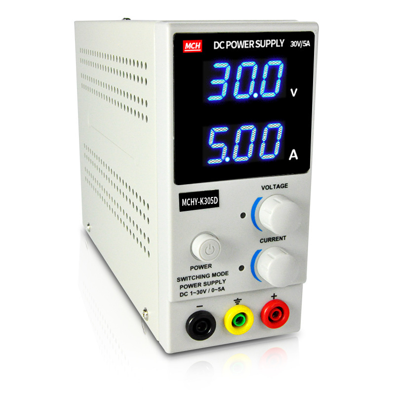 MCH-K305D Adjustable Switch Direct Regulated Power Supply 30V5a Number Show Mobile Phone Repair Test DC Experiment Power Supply икона янтарная богородица скоропослушница кян 2 305
