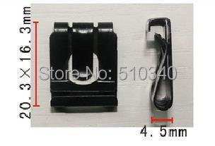 Envío gratis 100 unids adaptador tuerca lug bolts vástago marco de la matrícula