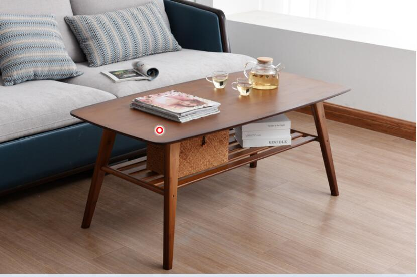 100*50*50cm Bamboo Coffee Table Modern Living Room Tea table