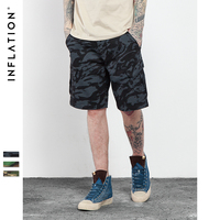 INFLATION 2016 Brand Mens Military Cargo Shorts New Army Camouflage Shorts Men Cotton Loose Work Casual