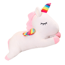 цены на Unicorn Plush Toy Cute Unicorn Doll Cute Animal Stuffed Unicornio Soft Pillow Baby Kids Toys for Girl Birthday Christmas Gift  в интернет-магазинах