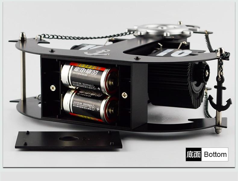 Autobots ancla modelado hélice estudio giratorio sala de estar mudo - Decoración del hogar - foto 4