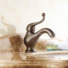 Latina estilo Retro de luxo europeu antigo Torneira da Bacia Bacia Torneira quente e fria torneiras de lavatório RB1044