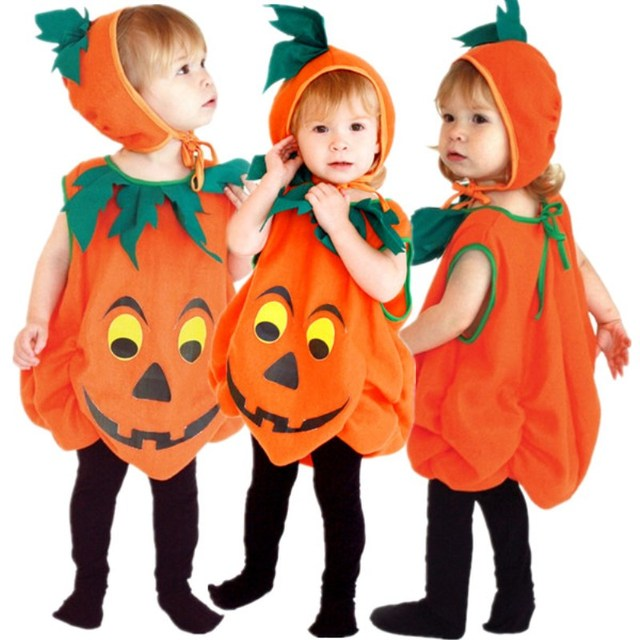 Free Shipping Boys Girls Kids Pumpkin Costumes Halloween Christmas Carnival Fancy Dress for Children Masquerade Cosplay  sc 1 st  AliExpress.com & Free Shipping Boys Girls Kids Pumpkin Costumes Halloween Christmas ...
