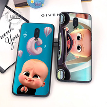 Coque For Case Oneplus 6T 7 Cover Fashion Babyboss Soft Silicone for Funda One plus Phone Cases 1+6T Capa