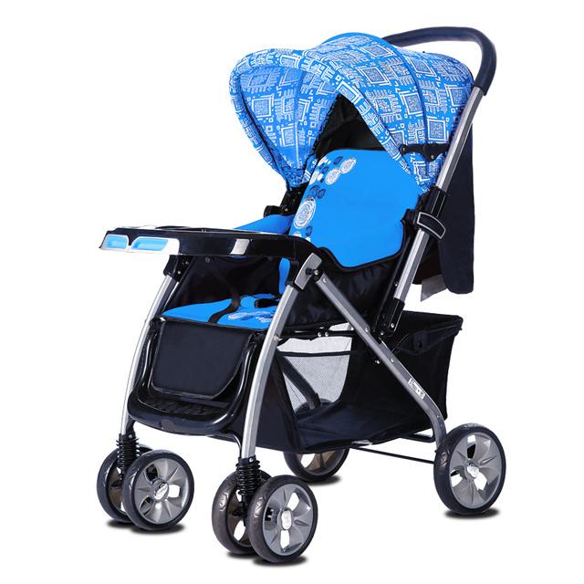 BBH carrinho de bebê alta paisagem quatro rodada two-way prova chocante recém-nascidos BB carrinho de criança