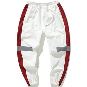 Image 2 - Мужские спортивные брюки, свободные спортивные брюки в стиле хип хоп, брюки шаровары 4XL 5XL