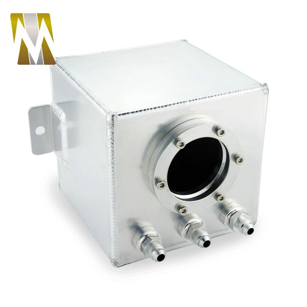 Le réservoir d'alimentation universel de réservoir de montée subite de carburant d'huile en aluminium de billette de l'argent 2L de haute performance AN6 a besoin d'une installation professionnelle - 5