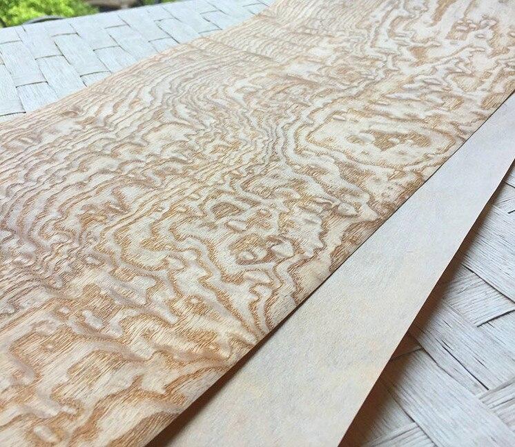 1 pièce L: 2.5 mètres largeur: 16 cm épaisseur: 0.25mm placage bois automobile décoration intérieure placage