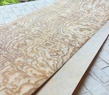 1Pieces L:2.5Meters  Width:16cm Thickness:0.25mm Wood Veneer Automotive Interior Decoration