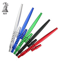 SY 1set High Quality Alloy Stem Hookah Hose Handle Suit For Diameter 12MM Shisha Tube Accessories narguil