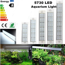 AC100~240v Aquarium LED Lid Lighting Plants Grow Light For Fish Aquatic Plant Tank 5730 SMD 20-60cm 12-39W Lamp US/EU Plug(China)