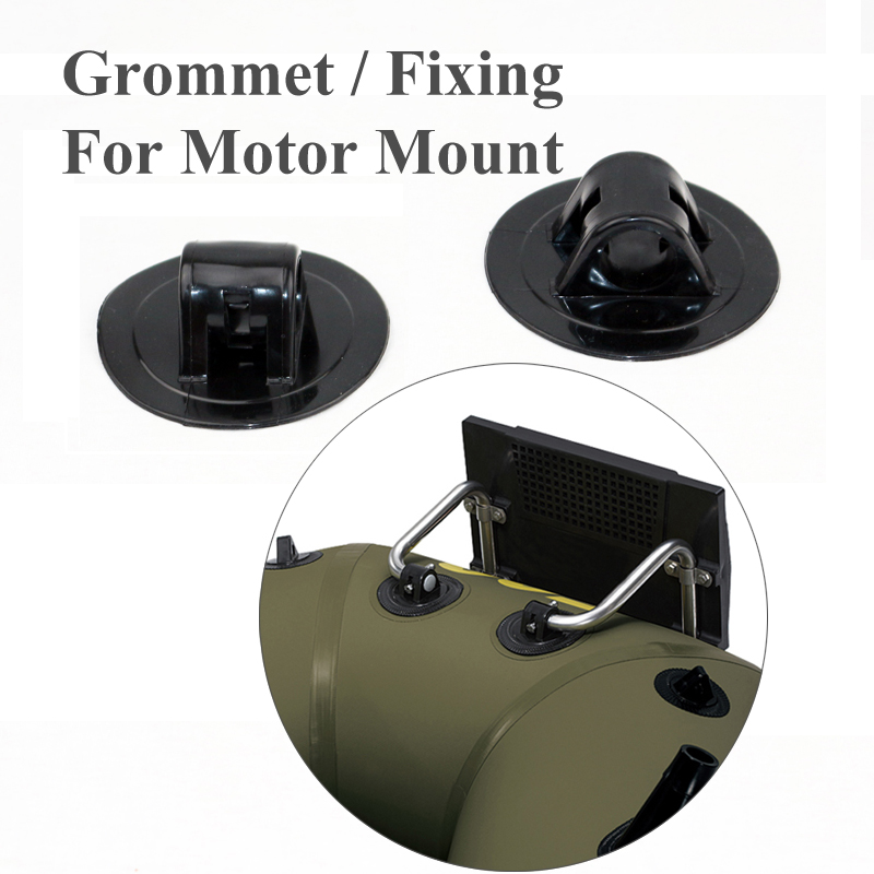 Black Color Grommet To Fix Hook Motor Racket On Boat Inflatable Boat Part Accessory A09025