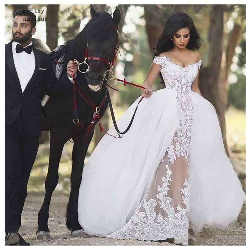 Luxury African Sexy Wedding Dresses