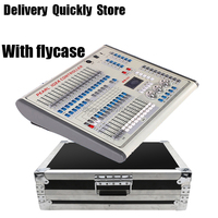 Flycase Package Professional Mini Pearl 1024 DMX Controller Stage Light DMX 512 Master Good use for Stage Light DMX 512 Lighting