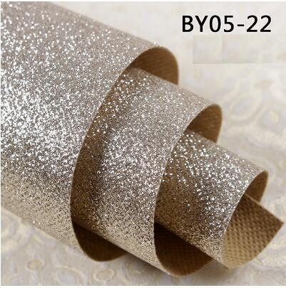 60 m mengkilap glitter wallpaper untuk ruang tamu
