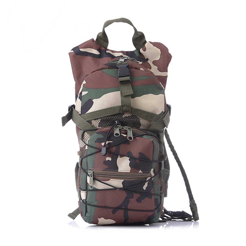 Unisex Waterproof Multifunction Outdoor Military Army Water Backpack Bags Sports Mountain Camping Hiking Trekking Bag outdoor camping hiking survival water filtration purifier drinking pip straw army green