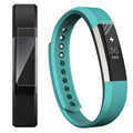 High Quality 3PC HD Film Intelligent LCD Screen Protective For Fitbit Alta Smart Watch Anti-reflective Protector Rainbow