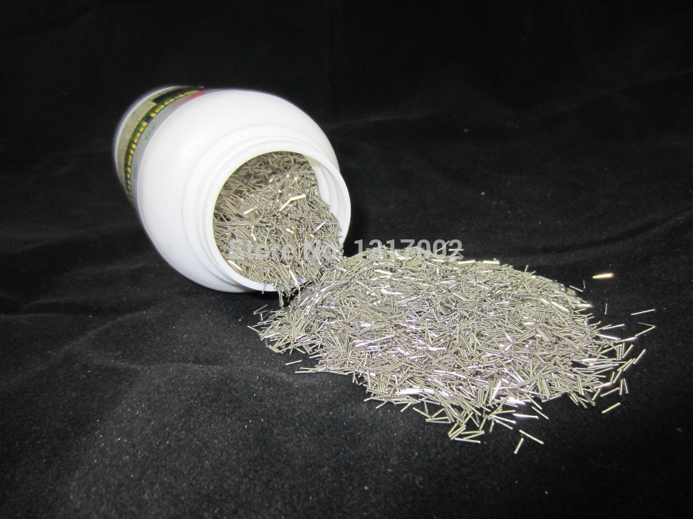 Mini pins for magnetic tumbler 200g per size dia 0.4mm Jewelry polishing needlesStainless Steel Magnetic Pins