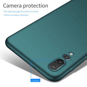 Image 4 - Do obudowy Huawei P20 Pro P30 Pro, ultra cienka, minimalistyczna, wąska, ochronna tylna obudowa telefonu do Huawei P20 Lite