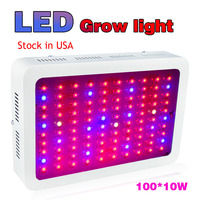Stock In USA LED Grow Light 1000W 100 10W Indoor Medical Plant Grow Lights Lamp For