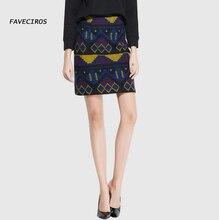 2016 Autumn and winter retro Our skirts high waist elastic skirt waist wool skirt package hip bust skirts s9606
