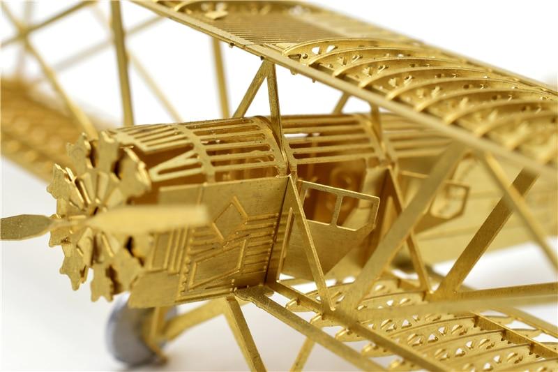 1/160 Boeing 40 Model bingkai pesawat DIY Tidak perlu menggunakan gam - Teka-teki - Foto 3