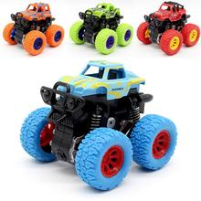 Inertia Shockproof Four-wheel Drive SUV Baby Child Boy Simulation Vehicle Model Car Anti Crash Toy four wheel drive off road vehicle simulation model toy car model baby toy car gift