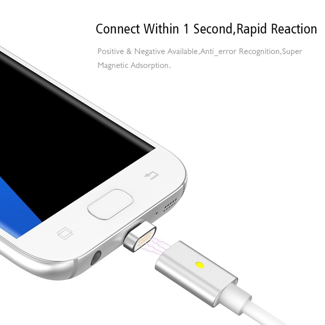 Magnetic Micro USB Charge Cable (for Samsung Huawei Sony Xiaomi…)