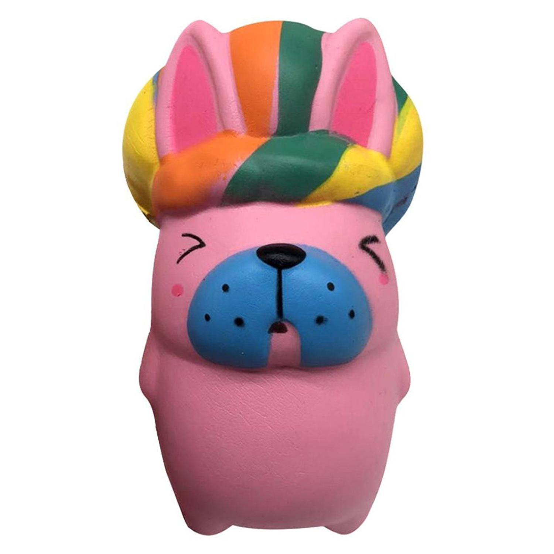 Слон мультфильм Король Кролик Kawaii телефон ремешок мягкие игрушки Squeeze анти-strss замедлить рост Декор прикол приколами малыш подарок