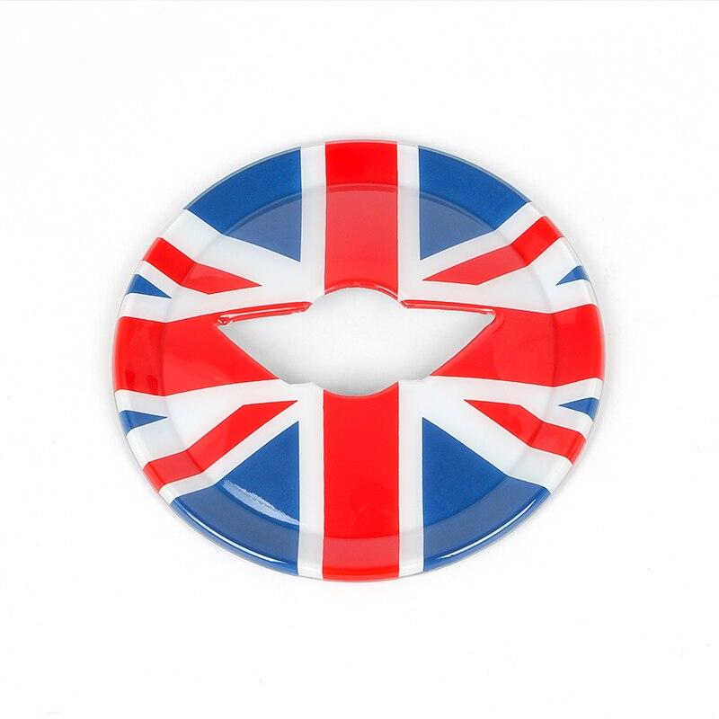 Купить с кэшбэком Steering Wheel Center Panel 3D Dedicated Car Sticker Decal Cover Sticker case for MINI COOPER F54 F55 F56 F60 Countryman Clubman