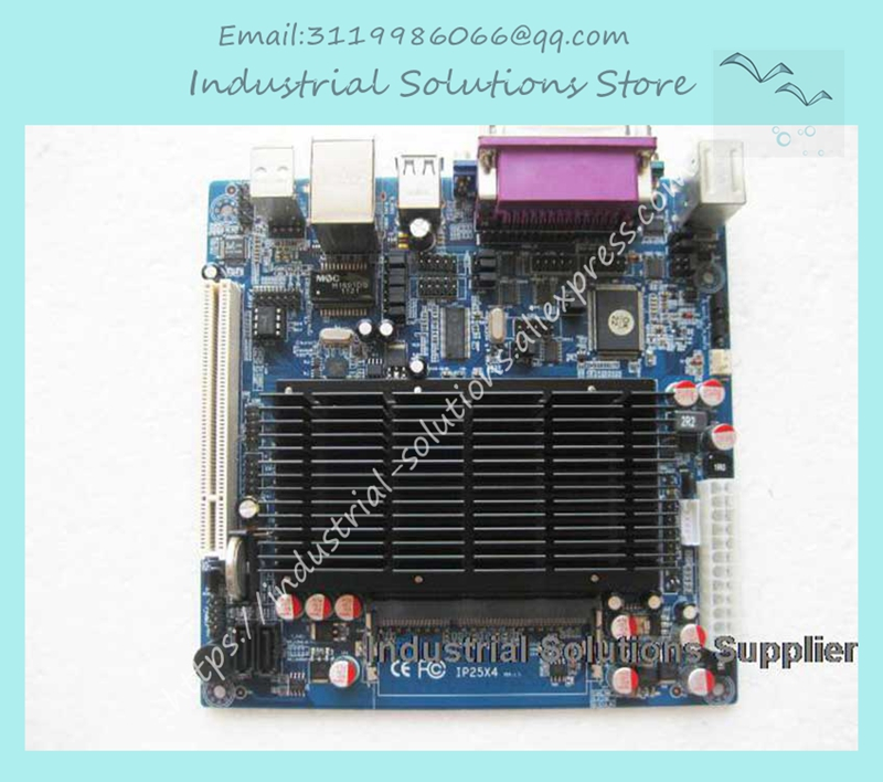 все цены на All Solid Atom d525 Mini-itx Industrial Motherboard 6com lvds ITX-M52X61D 100% tested perfect quality онлайн