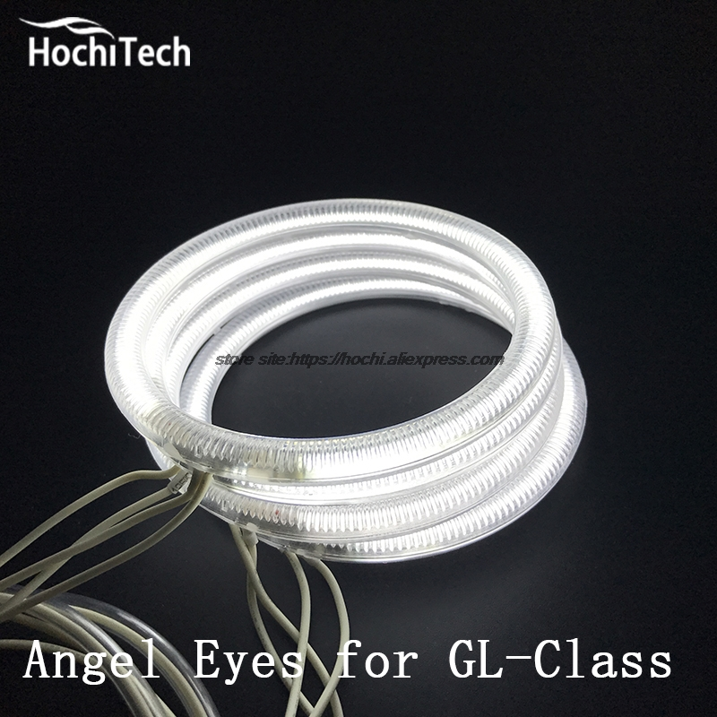 HochiTech Excellent CCFL Angel Eyes Kit for Mercedes-Benz GL-Class X164 GL450 2007-2012 Ultra bright headlight illumination for honda odyssey 4th g rb3 rb4 chassis 2008 present excellent ultrabright headlight illumination ccfl angel eyes kit halo ring