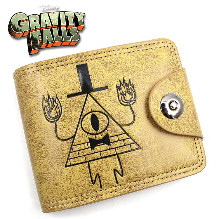 Gravity Falls  Doctor Who Suicide Squad Game of Thrones Short Wallet Purse Bag Handbag Holder Layers Button Wallets suicide squad neko atsume yo kai watch doctor strange gravity falls high quality pu short wallet purse with button