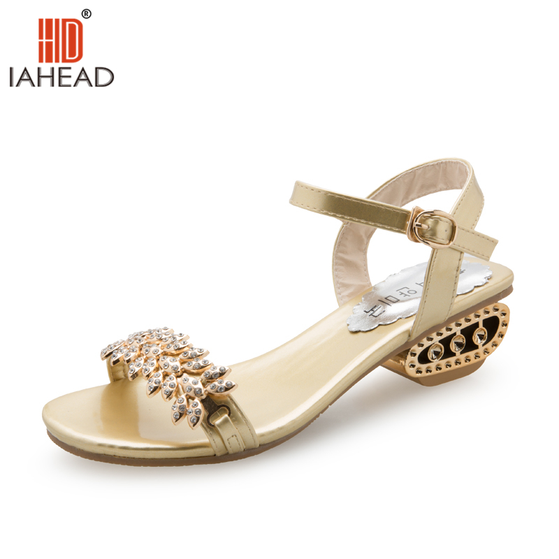 New Arrival Women Summer Shoes Gold Sandals Fashion Wedges Slippers Casual Shoes sandale femme ete 2017 de marque LXD262 phyanic 2017 gladiator sandals gold silver shoes woman summer platform wedges glitters creepers casual women shoes phy3323