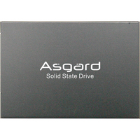 Asgard Новое поступление 2,5 SATA3 SSD 1 ТБ SSD Внутренний твердотельный накопитель для настольного кабель для жесткого диска заводская цена