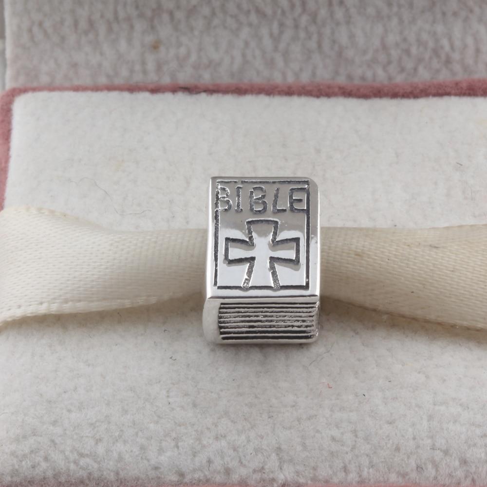 50c83ab171a5 Cheap ZMZY Original 925 dijes de plata de ley Bible Book Beads fit Pandora  pulsera regalo
