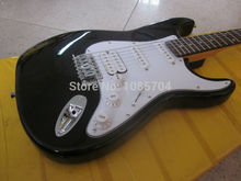 Electric guitar Wholesale fen st custom shop electric guitar/oem brand black color guitar/guitar in china