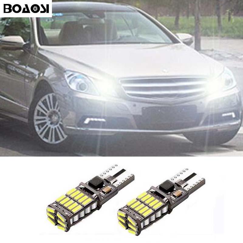 BOAOSI 2x T10 194 W5W Canbus De Voiture Parking Lumière Pour Mercedes Benz CLS GLK E200 E260 E300 W219 W220 w202 w220 w204 w203 A/C/E/S/R