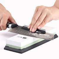 Whetstone Knife Sharpener High Quality Sharpener Knife Professional White Corundum Double Sided 3000#/8000# Grit Kitchen K527