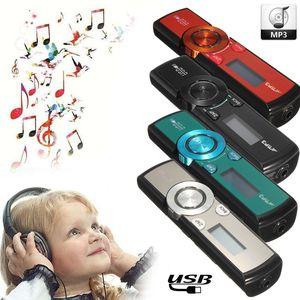KINCO 32GB LCD HD Screen USB MP3/WMA Player Mini Media FM Radio Micro SD/ TF Card + Headphones + Clip 2019New Style Listen Music