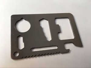 Бесплатная доставка 10 шт/50 шт многофункциональный инструмент для выживания нож saber Кемпинг-карта нож подарок