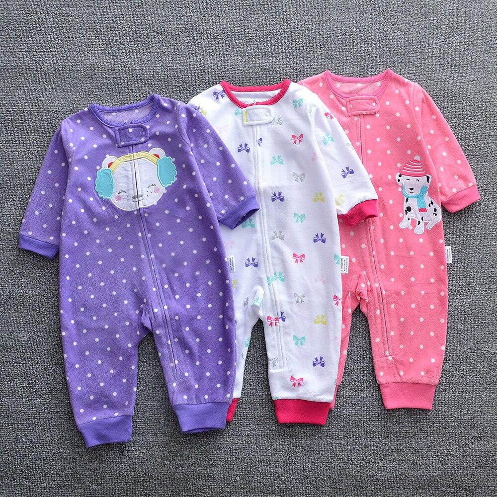 HTB1CBK.XIrrK1RjSspaq6AREXXaN 2019 Baby clothes bebes jumpsuit collar fleece newborn pajamas infants baby boys clothes toddler boys clothes coveralls outwear