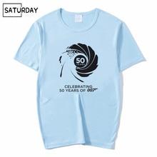 Men and Women Movie Film James Bond 007 Design Funny T Shirt ,Unisex Breathable Graphic Premium T-Shirt Mens Streewear