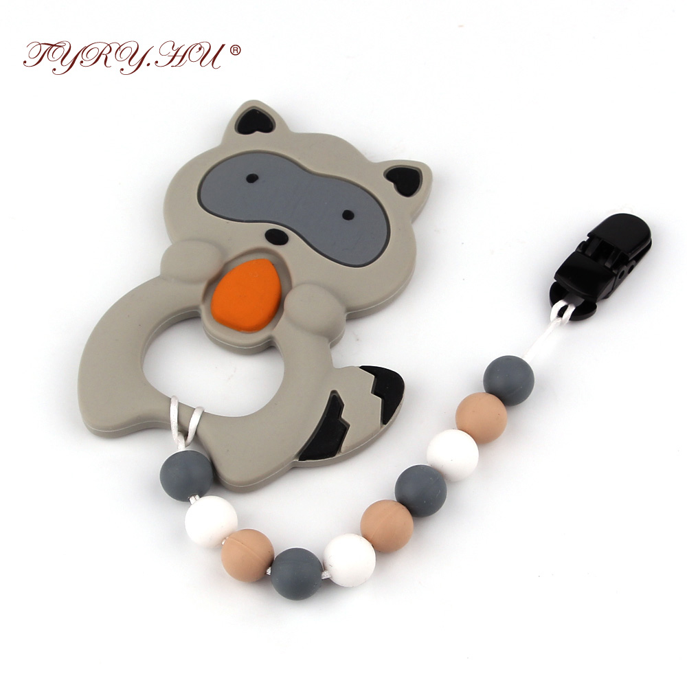 1pc Baby Soother Chain Hand Made Pacifier Clip Chain Holder Toddler Infant Food Grade Silicone Toys With Pacifie Leashess