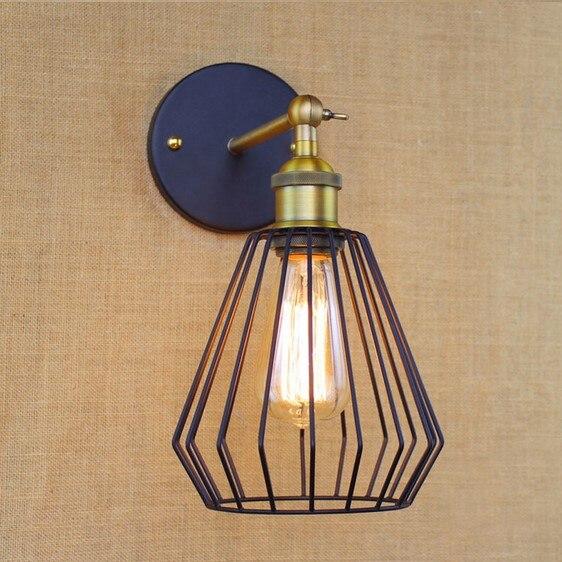 Iwhd Stil Loft Vintage Wandleuchte Mit 3 Lichter Für Hauptbeleuchtung Wandleuchte Arandela Treppenlicht Edison Lampen & Schirme Licht & Beleuchtung