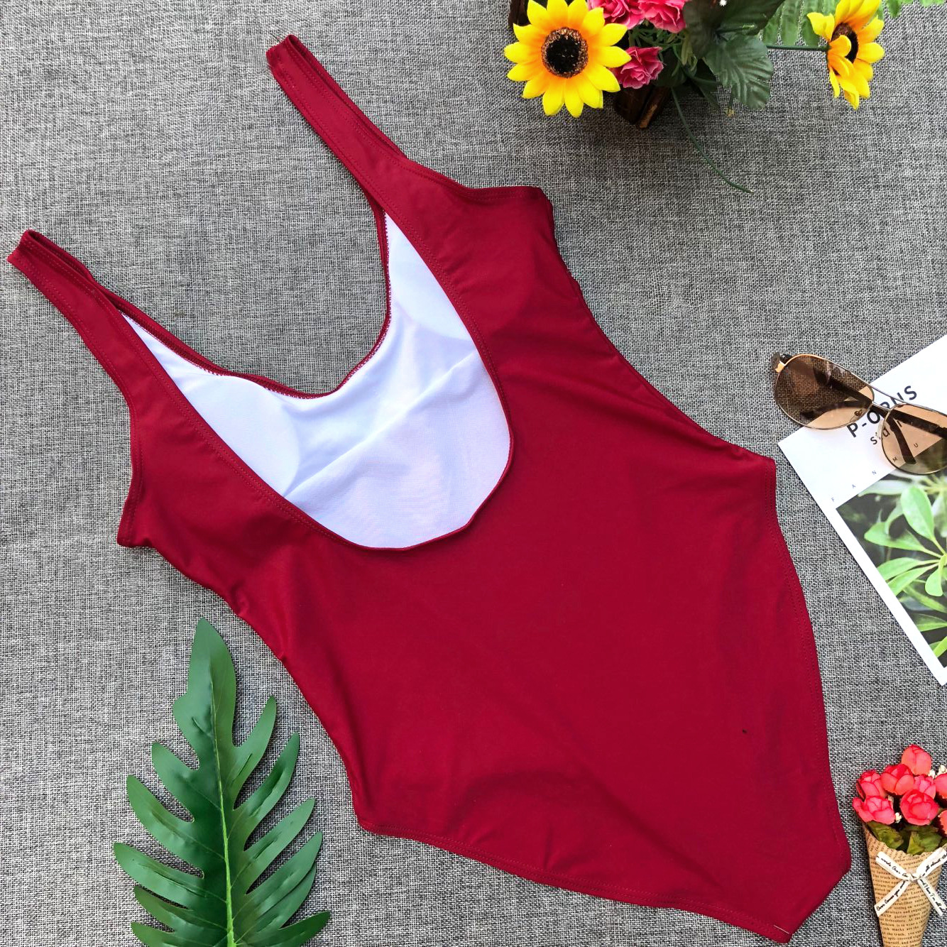 2019 Sports Letter Printed Swimmwear Monokini Swimsuit Sexy One Piece Swim Suits Women Bathing Suit in Body Suits from Sports Entertainment